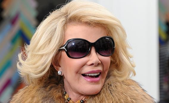 Joan Rivers on March 7, 2013, in Los Angeles