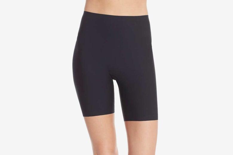 Spanx Thinstincts Mid Thigh Shorts.
