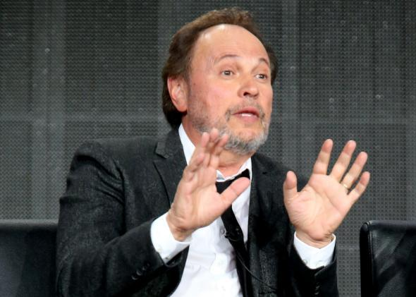 Billy Crystal's comments about gay sex on TV were dumb but not offensive.
