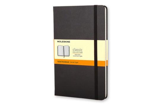 Moleskine Classic Notebook.