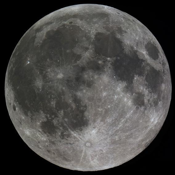 Full Moon by Fred Locklear