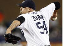 The Detroit Tigers' Joel Zumaya. Click image to expand.