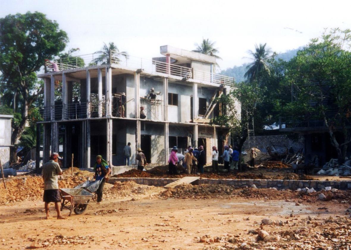 Knai Bang Chatt restoration.