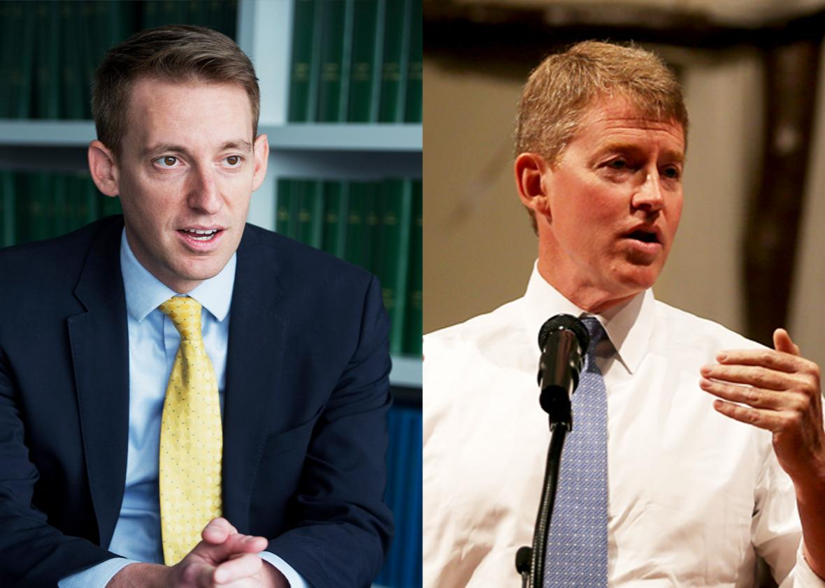 Jason Kander and Chris Koster.
