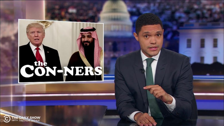 Trevor Noah Looks at President Trump's Publicly-Stated Willingness to Cover Up a Murder in Exchange for Money
