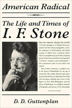 American Radical: The Life and Times of I. F. Stone book cover.