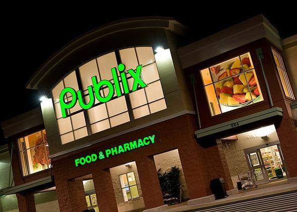 Publix supermarket in Winter Haven, Fla.