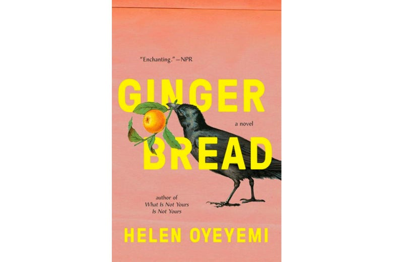 Gingerbread book cover.