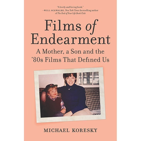 The cover for the book Films of Endearment.
