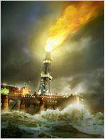 Getty's image of an oil rig in romanticized turmoil. Click image to expand