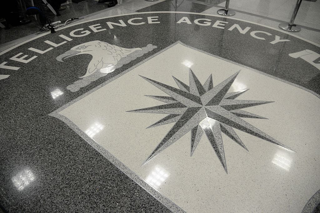 CIA headquarters on Jan. 21, 2017.