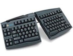 Goldtouch Ergonomic Keyboard.