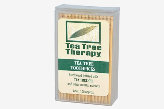 Tea Tree Therapy Toothpicks.