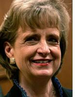 Harriet Miers. Click image to expand.