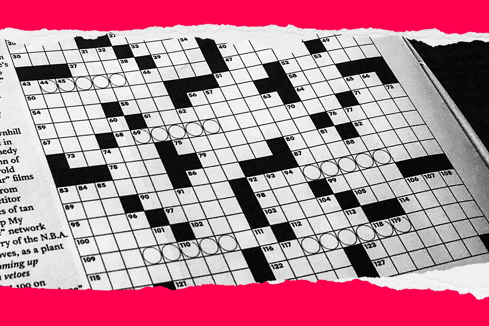 photograph regarding Ny Times Sunday Crossword Printable called The NYT crossword puzzles seek the services of of an ethnic slur states a whole lot