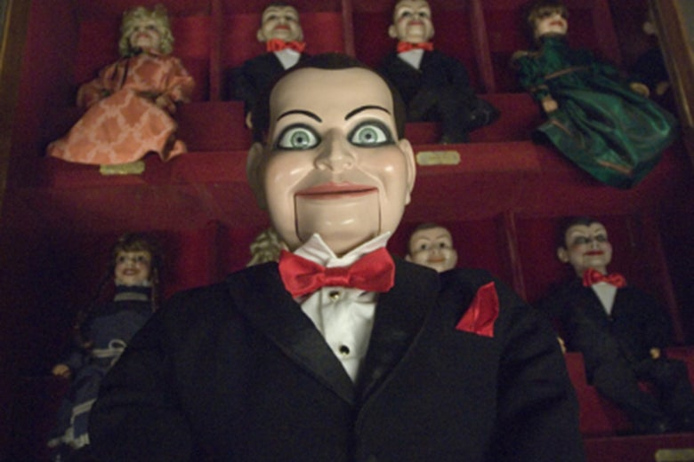 The ventriloquist dummy in Dead Silence.