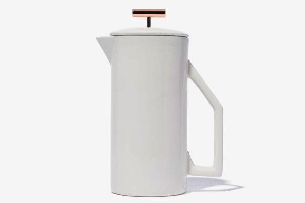 Yield Design Ceramic French Press.