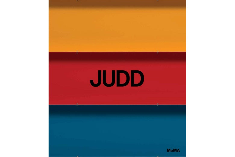 Judd catalog cover cover