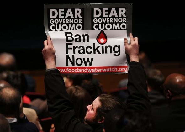 Cuomo Fracking ban