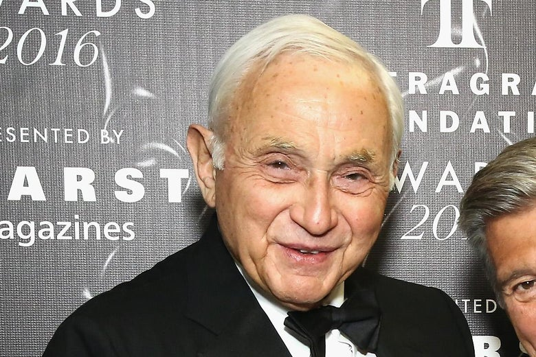 Les Wexner at an event in New York.