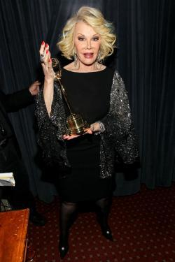 Joan Rivers hosts the Clio Awards.