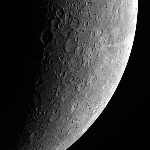 Mercury from MESSENGER.