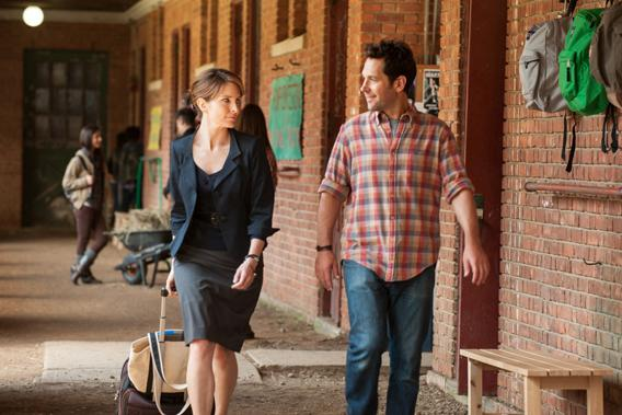Tina Fey and Paul Rudd in Admission