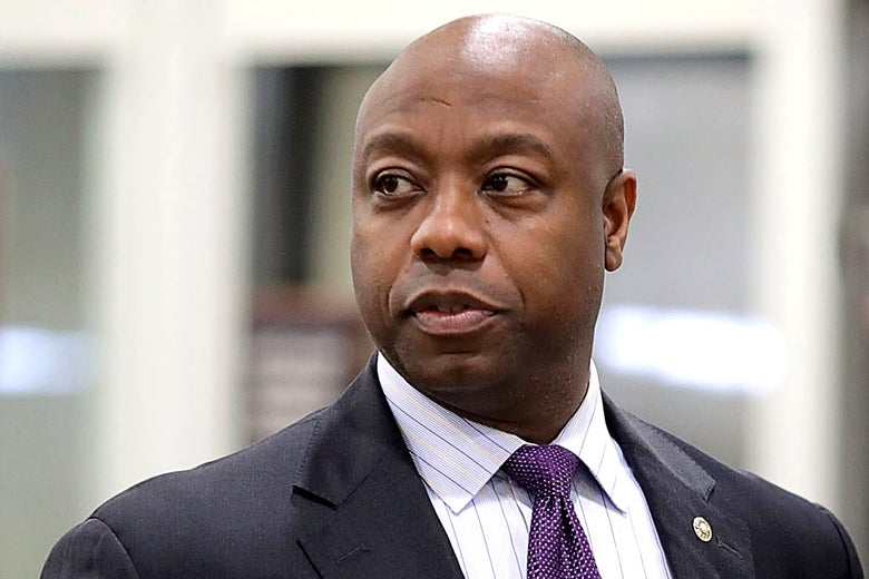 Black Republicans are the only GOP officials who seem bothered by racism.