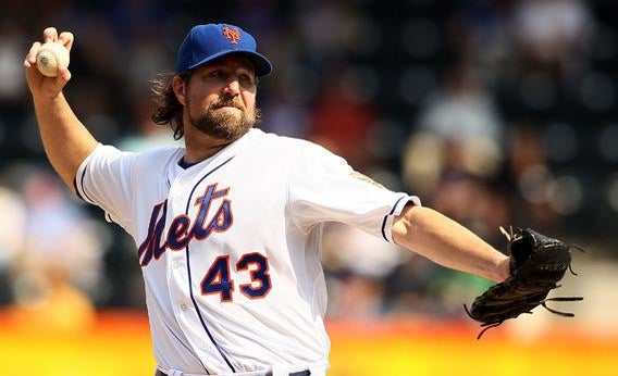 R.A. Dickey of the New York Mets