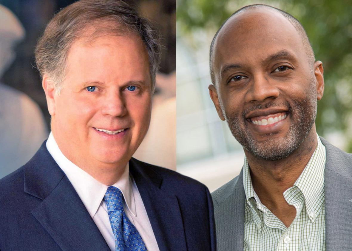 Doug Jones and Robert Kennedy Jr. are two Democrats running for Senate in the state of Alabama.