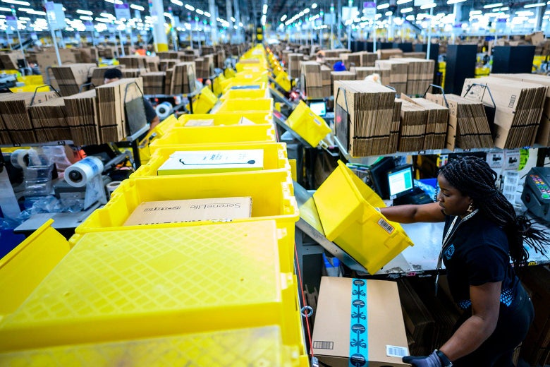 Amazon Prime Day: What it's like for fulfillment center workers
