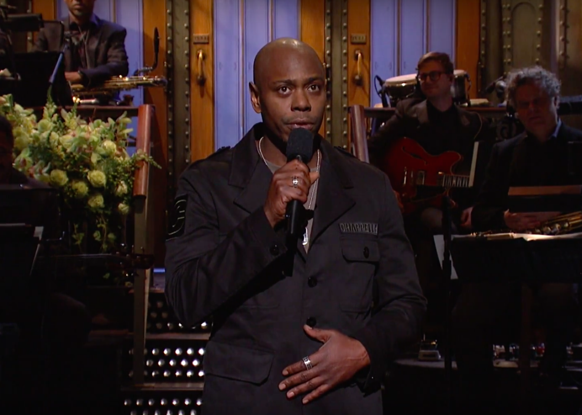 Dave Chappelle's SNL monologue on Trump's election, Black Lives Matter, and being rich and black (VIDEO).