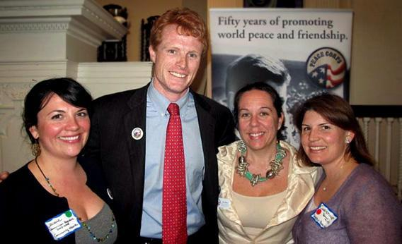 Joe Kennedy III honors New England Peace Corps volunteers.