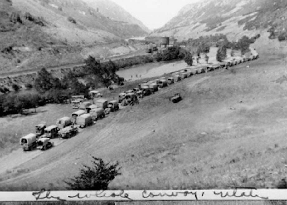 In 1919, Eisenhower took a disastrous road trip that led to his support of the modern, paved highway.