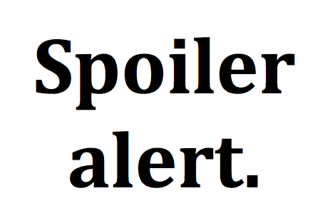 Spoiler alert.