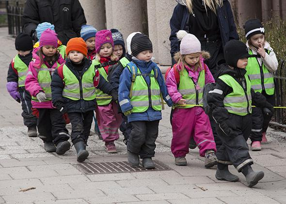 Stockholm day care.