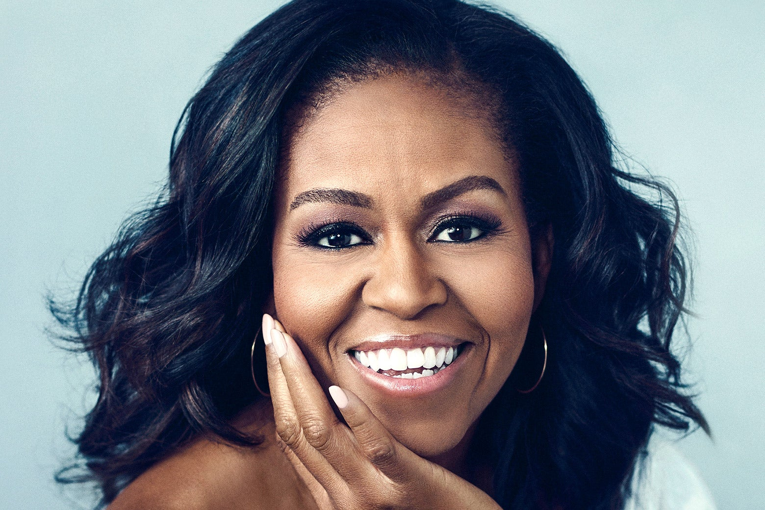 The cover of Becoming Michelle Obama.