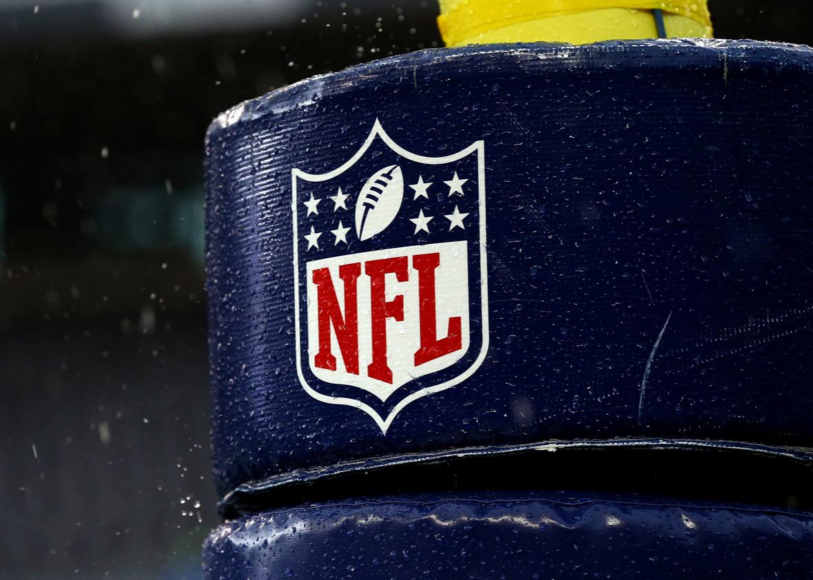 Detail image of the NFL logo