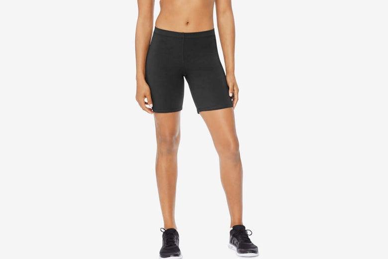 Hanes Women's Stretch Jersey Bike Short.