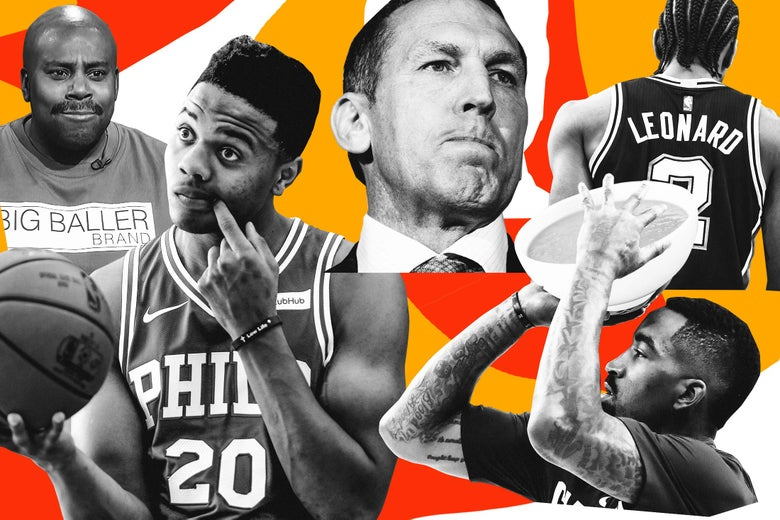 The 72 Weirdest Stories of a Very Weird NBA Season