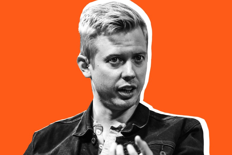 8 November 2017; Steve Huffman, CEO, Reddit, on Centre Stage during day two of Web Summit 2017 at Altice Arena in Lisbon. Photo by Cody Glenn/Web Summit via Sportsfile