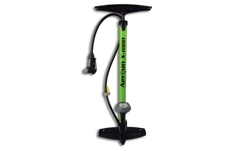 A bike pump.