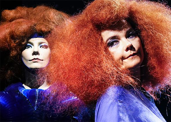 MoMA's Björk's exhibition is part Madame Tussauds and part Rock and Roll Hall of Fame.