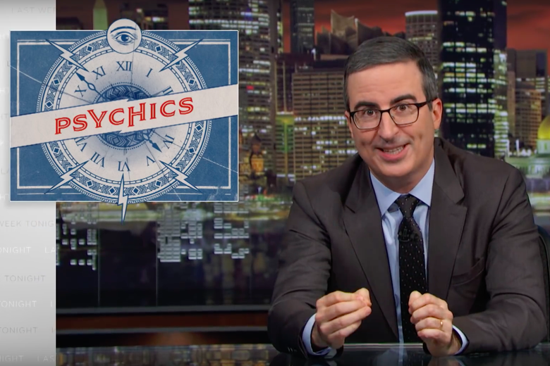 John Oliver Exposes the Tricks Psychics Use to Exploit Vulnerable People