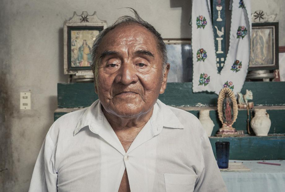 100 years old, Yucatán, Mexico