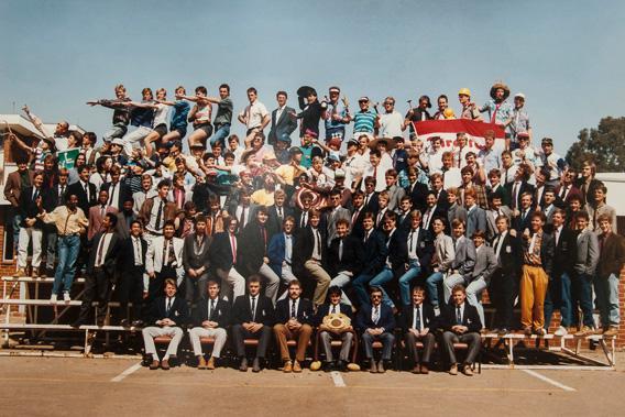 1992 Class photo.