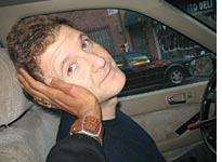 My husband, Josh, who was kind enough to pick me up at the airport