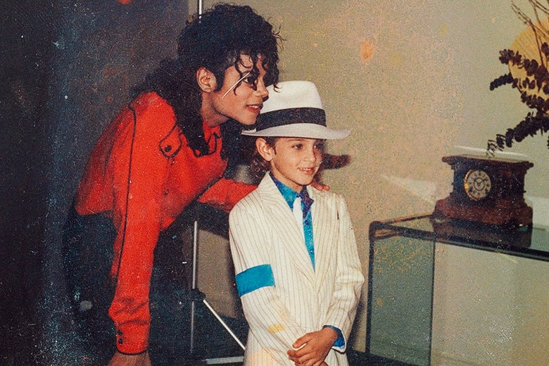 Still from Leaving Neverland
