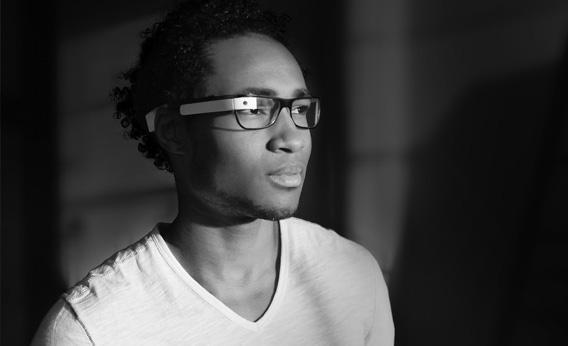 Google Glasses.