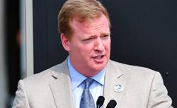 NFL Commissioner Roger Goodell. Click image to expand.